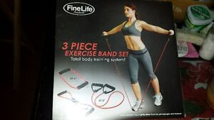 Fine Life 3 Piece Exercise Band Set