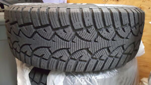 General Tire Altimax Arctic Winter Tires + Rims (215/60 R16 95Q)