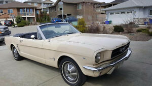 1965 Convertible Mustang-soft-top