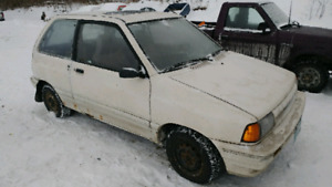 2X 1989 FORD FESTIVAS AND A 1988 JEEP COMANCHE 2WD FOR SALE