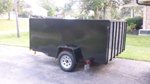 7'x10' Heavy Duty Utility Trailer 3500lbs