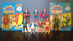 Vintage Kenner Super Powers lot