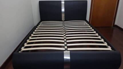 Quality King Size Leatherlook Brand New Discounted Bed Frame