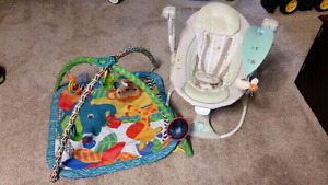 Ingenuity baby swing and play mat