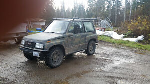 1990 Chevrolet Tracker SUV, Crossover Prince George British Columbia image 3