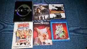 Blu-Ray et DVD variés