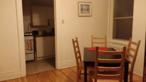 1 bedroom available January 1 to April 30th near McGill Ghetto!