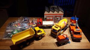 Ensemble Playmobil de construction
