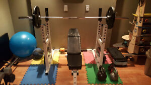 Weights & Rack - Excellent Condition!