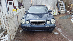 REDUCED     2002 Mercedes-Benz E-Class E320 Sedan