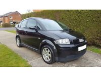 Audi A2 1.4 TDi - Black - Full Service History - Owned For 10 Years