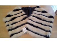 Brand new ASOS large faux fur shawl REDUCED