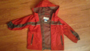 Columbia red  and grey 3T jacket
