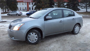 07 SENTRA - auto - 4dr - LOADED - WINTER TIRES - ONLY 114,000KMS