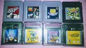 Nintendo gameboy games vintage , make an offer
