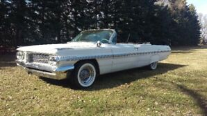 Beautiful rare 1962 Bonneville Convertible with 421 SD