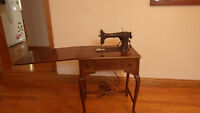 Antique Rotary Electric Sewing Machine