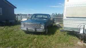 1978 chev 3/4 2×4  exellent body and power train