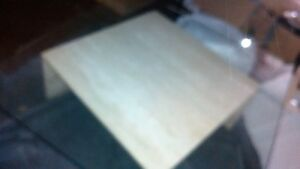 Contemporary Glass and Stone Table - Reduced to Sell Cambridge Kitchener Area image 3