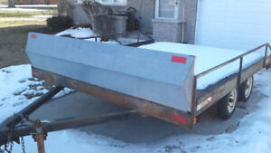 2003 Viltech Tandem Axle Snowmobile /Atv Trailer