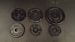 Cast Iron Weights (Plates)