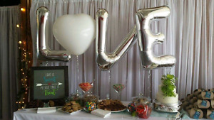 Love Is Sweet Sign used as Wedding Decor