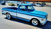 ##1 OF A KIND PRO TOURING 72 CHEV C10  SHORTBOX MAY TRADE ##