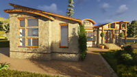 Architectural CAD drafting BIM modeling 3D rendering services