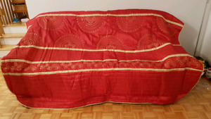 Bedspreading (Bed Cover) with beads from Turkey (New)