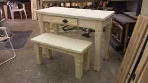 Rustic style entryway table and bench  Strathcona County Edmonton Area image 2