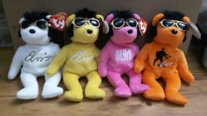 And Some More Ty Beanie Baby Collectible Bears and Animals