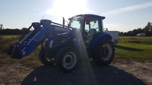 2014 NEW HOLLAND T4.75 - EXCELLENT CONDITION