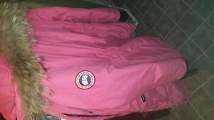 Pink Canada goose jacket !!!!