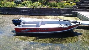 14' Lund WC, Mercury 25 HP and Trailer Package
