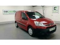 *FROM £149 PER MONTH* RED CITROEN BERLINGO 1.6 625 ENTERPRISE L1 HDI DIESEL