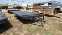 "2016 Rainbow 12'x 102"" Deckover ATV Trailer. MADE IN CANADA"