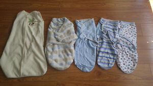Lot of swaddle blankets
