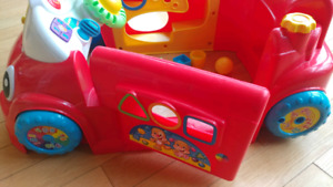 Fisher Price car style music activity center playpen