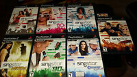 Micros Singstar + jeux pour Playstation 2