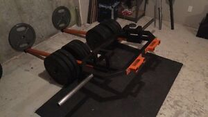 Hex trap barbell multi-purpose - Super VIKING press  West Island Greater Montréal image 5