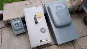 Square D Electric Panel Shut Off Switch 200Amp