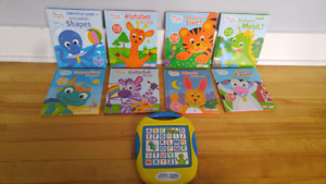 Baby Einstein my first Smart Pad and books