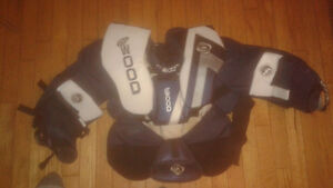 Sherwood goalie chest protector