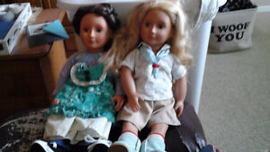 Our Generation dolls and American girl clothes