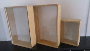 Cadres-boîtes Ikea Bås Wall mount boxes