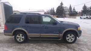 2004 Ford Explorer Eddie Baurer Edition.