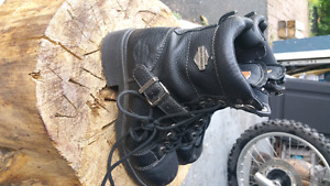 Women's Harley motorcycle boots size7