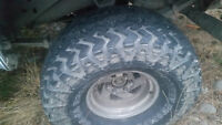 35 inch mickey Thompson pro Baja belted radial tires