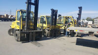 Forklift Driver needed days $17 per hour Brampton