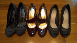 HIGH HEEL BUNDLE!! All size 8, excellent condition!